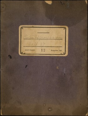 Beckmann Sketchbook 48