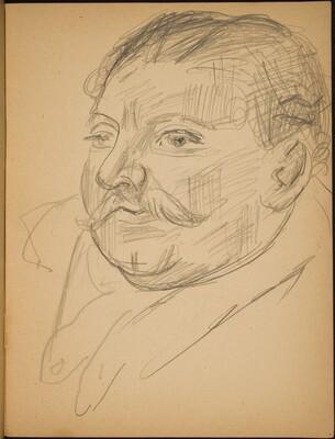 Bildnis Heinrich George (Portrait of Heinrich George) [p. 7]