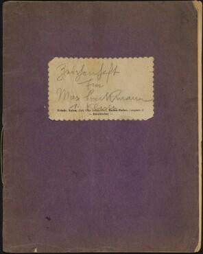 Beckmann Sketchbook 32