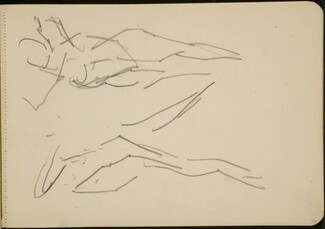 Studie zweier tanzender Figuren (Study of Two Dancing Figures) [p. 29]
