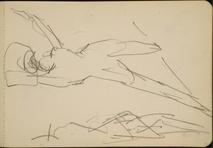 Studie zweier tanzender Figuren  (Study of Two Dancing Figures) [p. 31]