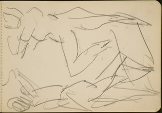Studie zweier tanzender Figuren  (Study of Two Dancing Figures) [p. 33]