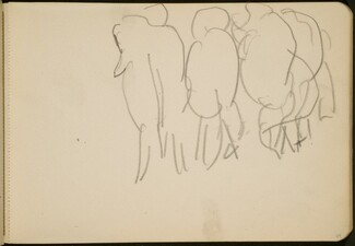 Zirkusnummer mit Elefanten (Circus Act with Elephants from Behind) [p. 69]