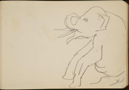 Sitzender Elefant (Seated Elephant) [p. 73]