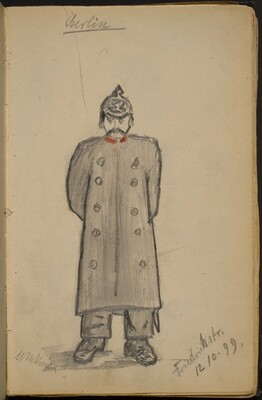 Policeman on Friedrich Strasse