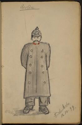 Policeman on Friedrich Strasse