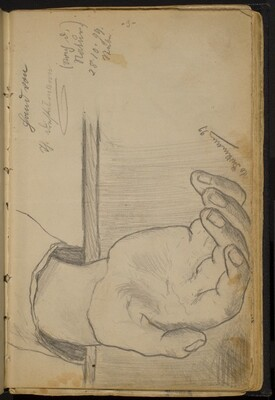Study of a Right Hand