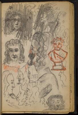 Numerous Studies of Faces