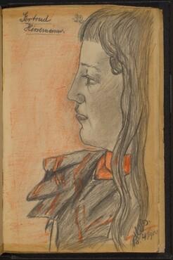 Study of Gertrud Hirsenmann