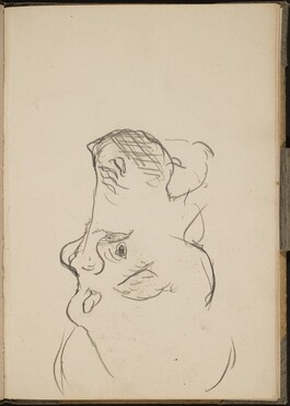 Nilpferdkopf im Profil (Hippo Head in Profile) [p. 17]
