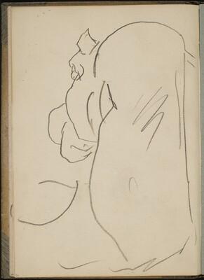 Nilpferd in Rückenansicht (Hippo from behind) [p. 24]