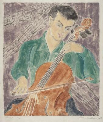 Sarabande (Portrait of Adrian Segal?)