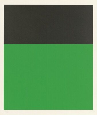 Black/Green II