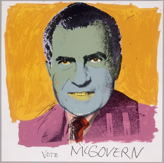 Andy Warhol, Vote McGovern, 1972