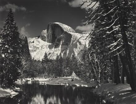 Half Dome, Merced River, Winter, Yosemite National Park, California