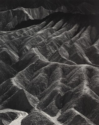 Zabriskie Point, Death Valley National Monument, California