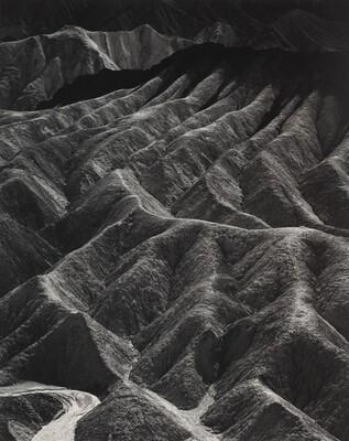 Zabriskie Point, Death Valley National Monument, California