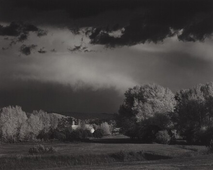 Autumn Storm, Los Trampas, near Penasco, New Mexico
