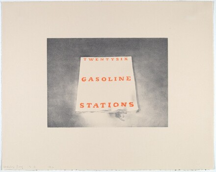 Twenty-six Gasoline Stations