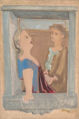 Untitled (two women at the window)