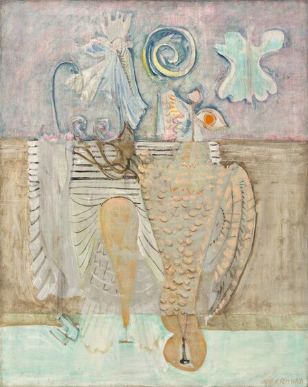 Mark Rothko, Hierarchical Birds, 19441944