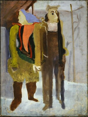 Untitled (man and woman holding hands)