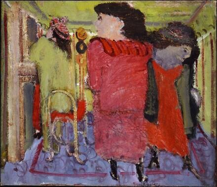 Untitled (women in a hat shop)