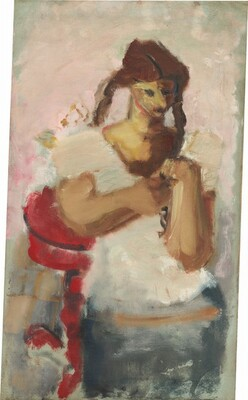 Untitled (girl with pigtails)