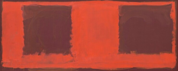 Mark Rothko, Untitled (Seagram Mural sketch), 19591959