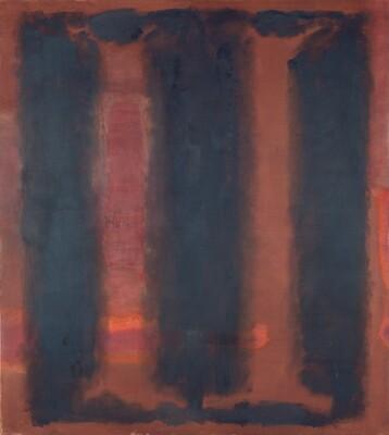 Untitled (Harvard Mural sketch)