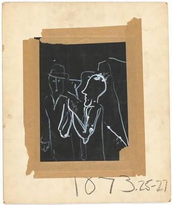 Two Figures [verso]