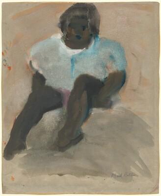 Seated Black Girl
