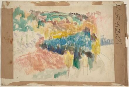 Landscape [verso]