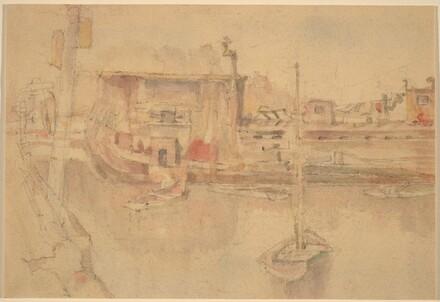 Untitled (Harbor Scene)