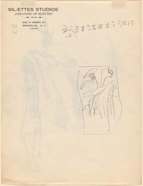 Figure in a Landscape [verso]
