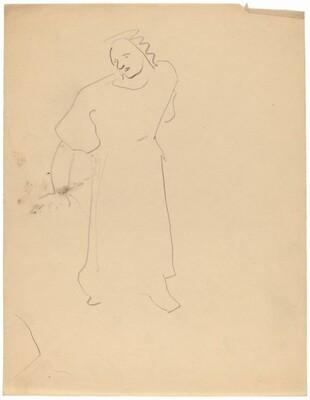 Standing Figure, Head Turned Left