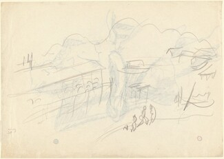 Landscape with Mountains [verso]