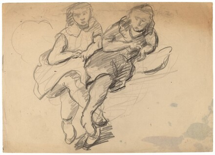 Two Reclining Females