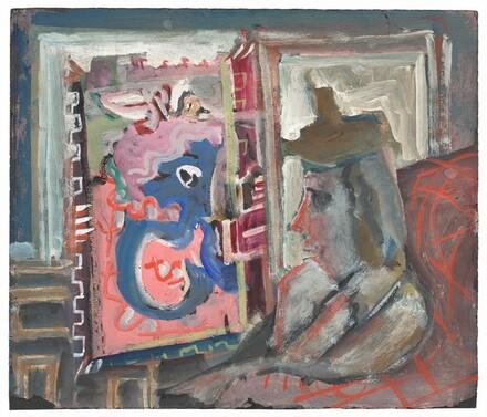 Untitled (Seated Figure)