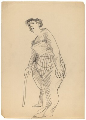 Standing Woman in a Bathing Suit