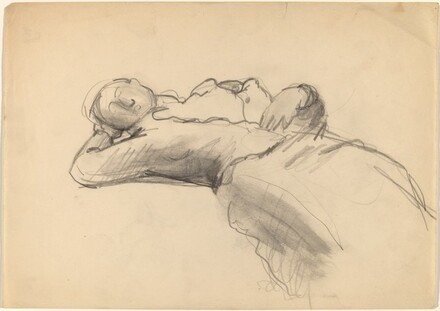Reclining Figure with Left Hand Behind Head