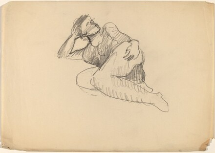Reclining Figure Looking Right