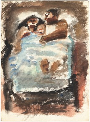 Couple in Bed [verso]