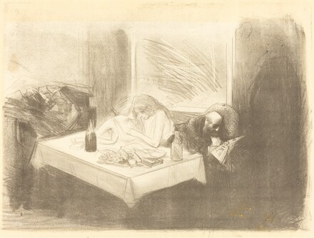 The Private Room (fourth plate)