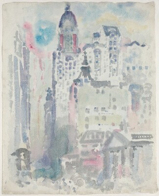 View of New York [verso]
