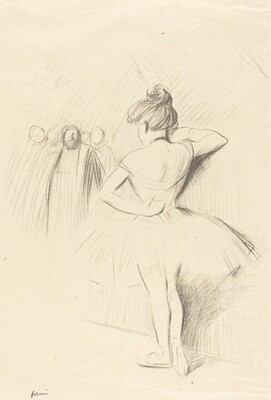 Dancer Leaning against a Wall