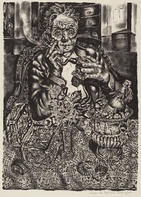 Self Portrait at 55 East Division Street