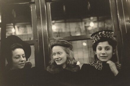 Walker Evans, Subway Portrait, 1938-1941