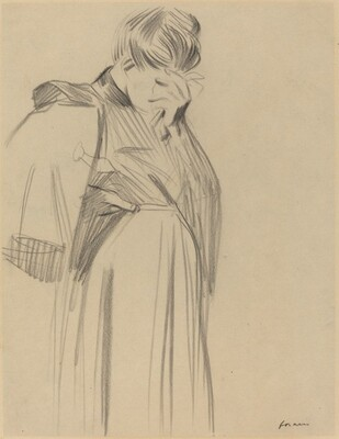 Woman Weeping