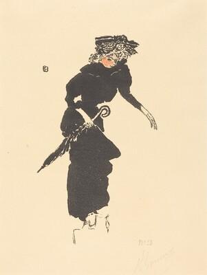 Woman with an Umbrella (Femme au Parapluie)
